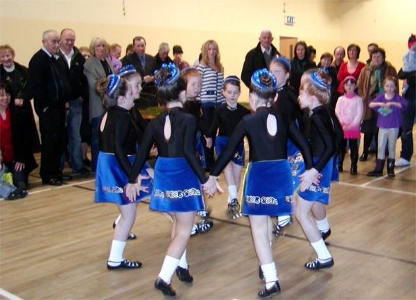 Maureen Byrne School of Irish Dancers in Magheroarty Community Centre